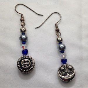 Jewelry - Sun & Moon Earrings